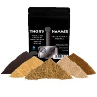 Thor's Hammer Formula - Organic Supplement - Testosterone Booster - Rich in Nitric Oxide, Increases Blood Flow and Dopamine Levels - Paleo and Vegan Friendly (100 g)