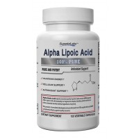 #1 Alpha Lipoic Acid - Powerful 600mg, 120 Vegetable Capsules - Made In USA