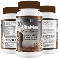 #1 BEST LIBIDO ENHANCER For Men By UltaLife - Powerful Male Enhancement Pills for Stamina & Endurance with Horny Goat Weed, Tribulus Terrestris, Niacin & More- Heightens Sensations, Promotes Healthy Erections & Sex Drive