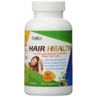 Legacy Hair Health Hair Loss Vitamins for Hair Growth with Biotin ★ Don't Give Up On Your Hair ★ Our Powerful Biotin Hair Loss Product Works For Women And Men ★ Packed With 29 Potent Hair Essentials For Hair Growth Including 3000mcg Biotin Hair Growth V