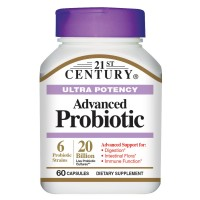 21st Century Advanced Probiotic Capsules, 60 Count