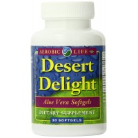 Aerobic Life Desert Delight Aloe Vera Softgels, 1000 Mg, 30 Count
