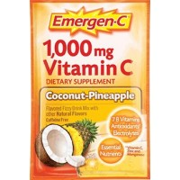 Alacer Emergen C Coconut Pineapple 10C 3.1 Oz