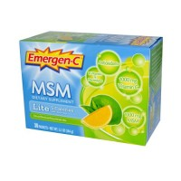 Alacer Emergen MSM Formula Fizzy Drink Pack Of 30