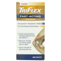 GNC Triflex Fast Acting Caplets, 240 Count - Joint Support