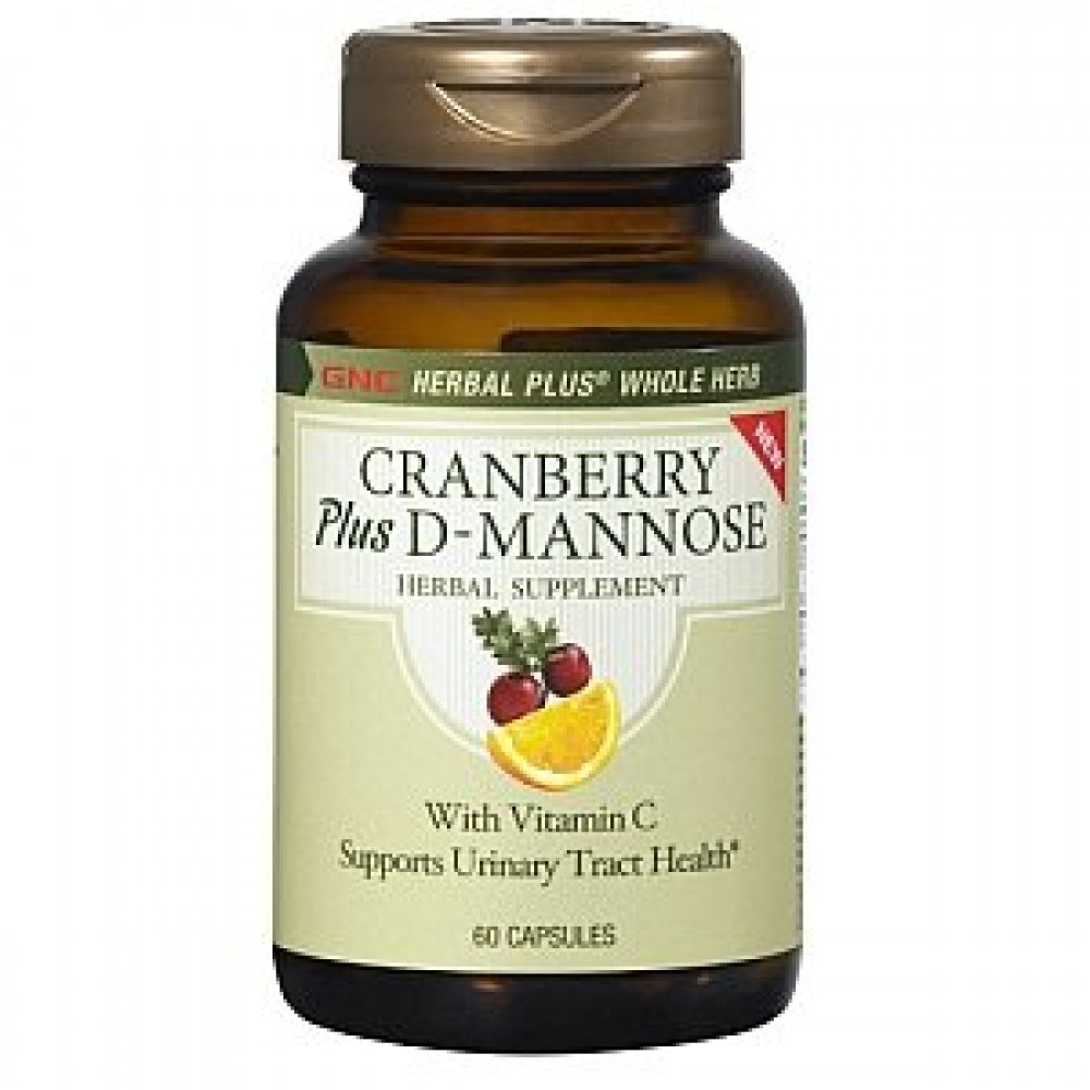 Buy Herbal Plus Cranberry Plus D Mannose Capsules 120 Shophealthy In