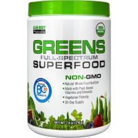 Labrada Nutrition Greens Full Spectrum Superfood Organic with BC-30, 7.4 Ounce