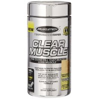MuscleTech Clear Muscle, Advanced Muscle and Strength Building Formula, 168 Liquid Capsules