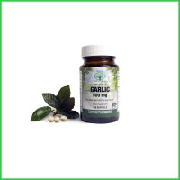 Natural Nutra -Premium Garlic Supplement - 500 mg of Fresh Garlic in One Softgel - HIghest Quality Raw Materials - Odor-Reduced - Made in the USA - Gluten Free - 100 Softgels