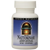 Source Naturals Nattokinase 36mg, 90 Softgels for Cardiovascular Health