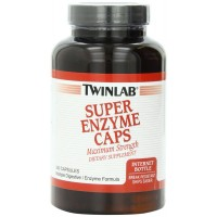 Twinlab Super Enzyme Maximum Strength Capsules, 240 Count (Digestive Health)