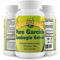 100% Pure Garcinia Cambogia Extract with 80% HCA, Weight Loss Diet Pills for Women and Men, Lose Weight Fast, Lose Belly Fat, All Natural Appetite Suppressant, Carb Blocker and Weight Loss Supplement