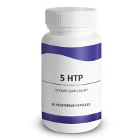 5-HTP, All Natural, Fast-Acting Vegan Dietary Supplement Boost Serotonin & Melatonin Levels, Combat Mood Swing, Anxiety, Depression, Headache, Migraine, PMS and Sleeping Disorders