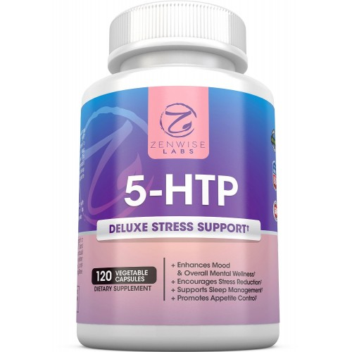 5-HTP - With 100mg of 5 HTP + Vitamin B6 - Stress Relief &