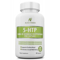 Alice Foods 5-HTP - 50 MG of Hydroxytryptophan - 60 Capsules