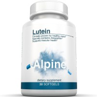 Alpine Nutrition Lutein 30 Softgels