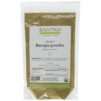 Banyan Botanicals Bacopa Powder - Certified Organic, 1/2 Pound - Bacopa monnieri - Rejuvenative for the mind and nervous system*