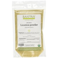 Banyan Botanicals Licorice Root Powder - Certified Organic, 1/2 Pound - Glycyrrhiza glabra - Nourishing tonic that supports proper function of the respiratory system*