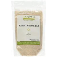 Banyan Botanicals Salt, Natural Mineral, Spice Jar - Rock Salt - Stimulates digestion and promotes a healthy appetite