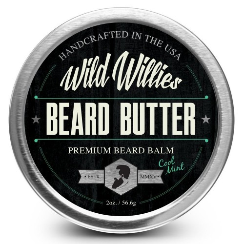 Beard Balm Conditioner For Men -Wild Willie's Beard Butter-Amazing Beard  Balm with 13 Natural Locally Sourced Ingredients to Condition and Treat  Your