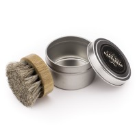 Beard Oil Brush with Travel Case | Perfect For All Beard Balms and Oils