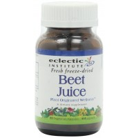 Beet Juice Freeze-Dried Eclectic Institute 90 Caps - Liver and Cardiac Care