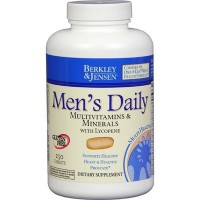 Berkley & Jensen Men's Daily Multivitamins and Minerals Supplement Tablets - 250 Count - Compare to Men's One A Day