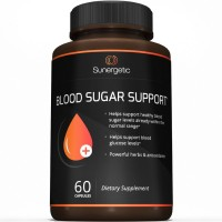 Best Blood Sugar Support Supplement - Helps Support Healthy Blood Sugar & Glucose Levels- Includes Bitter Melon Extract, Vanadium, Chromium, Cinnamon, & Alpha Lipoic Acid (60 Capsules)