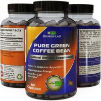 Best Pure Green Coffee Bean Extract ● Extra Strength Formula for Women & Men ● Highest Grade & Quality Supplement ● 800 Mg Weight Loss Dosage - Guaranteed By Biogreen Labs