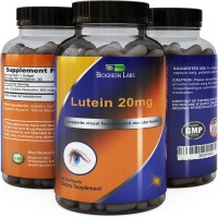 Biogreen Labs Lutein Eye Support Supplement With Zeaxanthin, 20mg, 30 Softgels