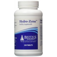 Biotics Research Hydro-Zyme 250 Tablets