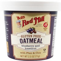 Bob's Red Mill - Gluten Free Oatmeal Cup Blueberry & Hazelnut (Pack of 12)