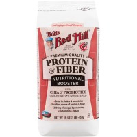 Bob's Red Mill - Protein & Fiber Nutritional Booster, Unflavored, 16 Ounces (454 gm)