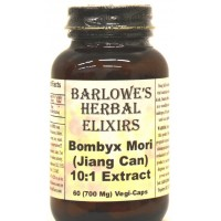Bombyx Mori Extract 10:1 - 60 700mg VegiCaps - Stearate Free, Bottled in Glass