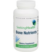 Bone Nutrients | Best Bone Support Supplement | Calcium, Vitamin D and Other Nutrients Provided Per Dose | 120 Easy-To-Swallow Vegetarian Capsules | Free Of Common Allergens