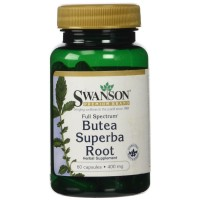 Swanson Butea Superba Root, Full Spectrum 400 mg 60 Capsules