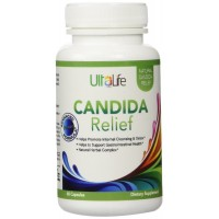 Candida Relief by UltaLife - Your Best Choice to Help Cleanse Yeast Overgrowth - Natural Herbal Complex - Helps Restore Yeast Balance - #1 Choice for Candida Cleanse Pills - Be Clear Now - No More Embarrassing Yeast Problems - MONEY BACK Guarantee if Not