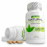 Vita-Web Colon Cleanse and Detox All Natural Way to Lose Weight, Flush Toxins, and Promote Digestive Health Organically 60 capsules