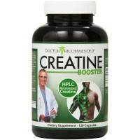 Creatine Booster - Doctor Recommended - HPLC Pure Micronized Creatine Monohydrate Supplement - 120 Capsules - CREATED & FORMULATED by REAL DOCTORS