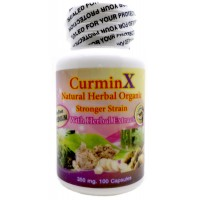 CurminX Herbal 100 capsules Menstrual and Vaginal Tightening Stop Odor 100% Natural Organic Extract