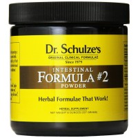 Dr. Schulze's Intestinal Formula #2 Powerful Intestinal Cleanse and Soothing Formula 8 Ounce Bulk Powder