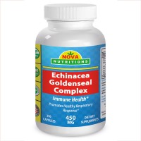 Echinacea Goldenseal Complex 450 mg by Nova Nutritions
