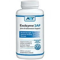 Exclzyme 2AF - 90 Vegetarian Capsules -Premium Natural Systemic Enzyme Formula - Total Joint Support - Contains Enteric-Coated Serrapeptase -AST Enzymes - 100% Satisfaction Guaranteed