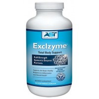Exclzyme - 450 Vegetarian Capsules - Premium Natural Systemic Enzyme Formula - Total Body Support - Contains Enteric-Coated Serrapeptase - AST Enzymes - 100% Satisfaction Guaranteed