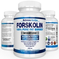Forskolin Extract for Weight Loss 250MG - BioScience Nutrition