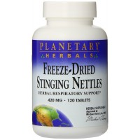 Freeze-Dried Stinging Nettles 420mg, Herbal Respiratory Support,120 Tab