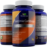 Garcinia Cambogia Extract Pure Weight Loss Supplement For Women And Men With 95% HCA To Block Carbs And Burn Fat - Thermogenic Metabolism Booster For Increased Energy With Antioxidant by Biogreen Labs