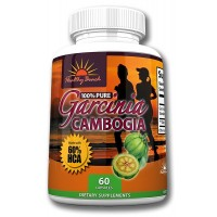 Garcinia Cambogia Weight Loss Supplement By Healthy Beach: Natural, Pure and Potent- Xtreme Weight Loss, Burn Fat, Curb Appetite, Kill Cravings, Boost Metabolism. Made in a USA FDA Facility!
