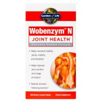 Garden of Life Wobenzym N 200 Tablets