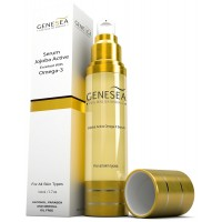 Genesea Jojoba Serum Enriched with Dead Sea Minerals & An Exclusive Blend Of Oils - A Source Of Powerful Antioxidants, Hydrators & Omega 3 for Your Skin